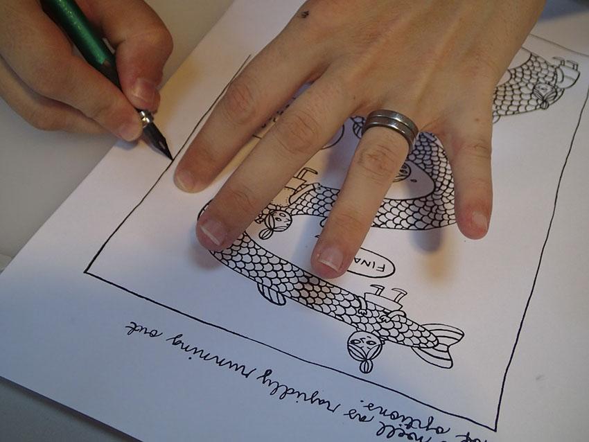 Kaisa drawing